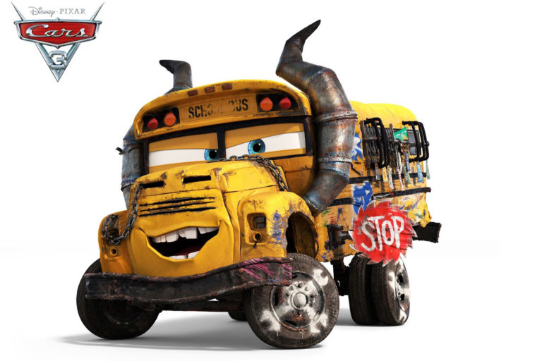 Cars 3 - Pixar - 2 Août 2017 Miss-fritter-personnage-cars-3-001-768x512