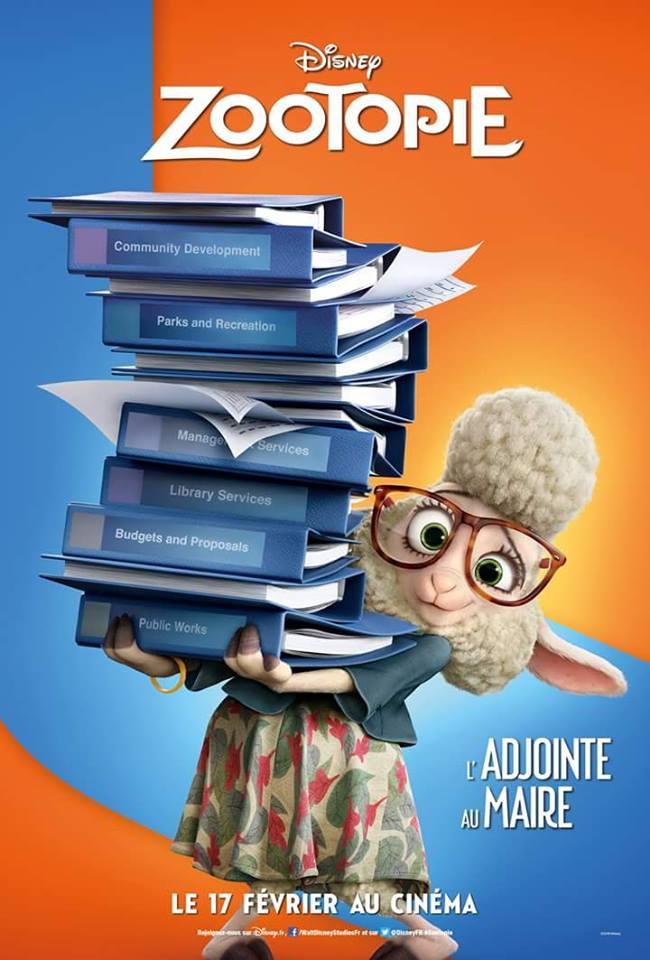 Zootopia  (Walt Disney Animation Studios)  17 Février 2016  - Page 2 12651026_10156498594560615_8797524690687519692_n