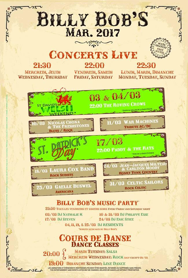 Billy Bob's Country Western/ La Grange  (Disney Village)  16830659_1252895298082399_354262078174163655_n
