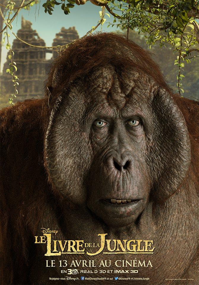 Le Livre de la jungle (Disney) le film sortie le 13 avril 2016 - Page 2 10401029_1154463507906483_7862827963658969417_n
