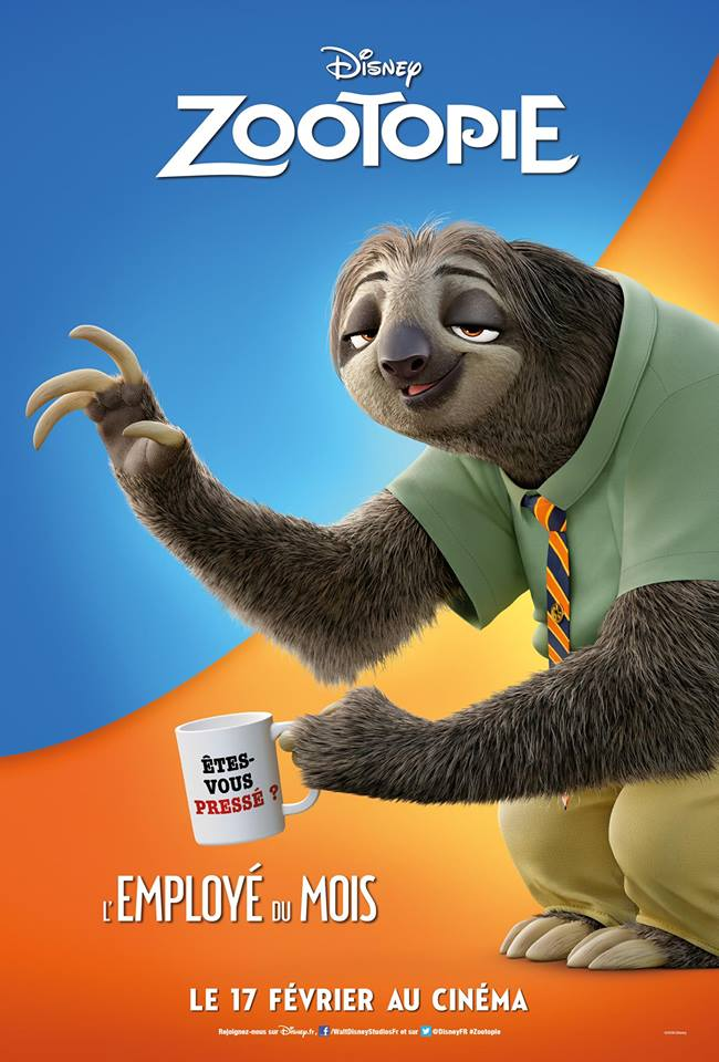 Zootopia  (Walt Disney Animation Studios)  17 Février 2016  - Page 2 12670162_805402572920098_6385438135345295346_n