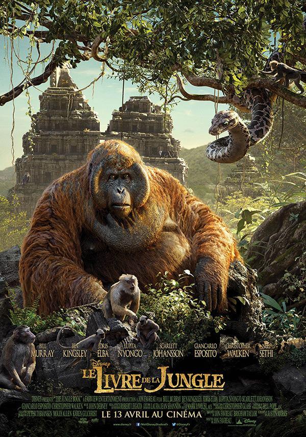 Le Livre de la jungle (Disney) le film sortie le 13 avril 2016 1919218_1266505046709684_6419221051240888336_n