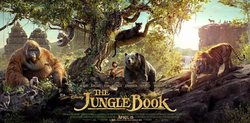 Le Livre de la jungle (Disney) le film sortie le 13 avril 2016 12495974_898105690305878_2193135195683266253_o